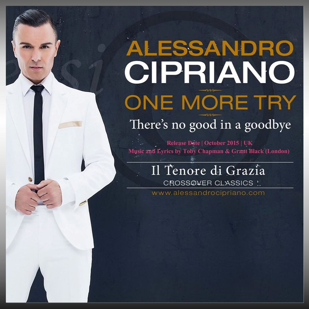 Alessandro Cipriano - Promo Pic for One More Try
